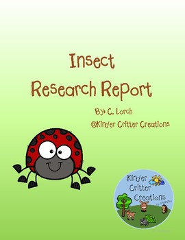 Insect Research Report Project
