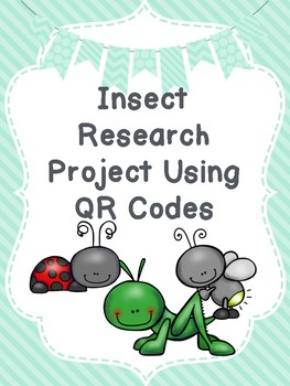 Insect Research with QR Codes