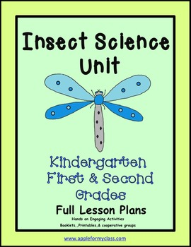 Insect Science Unit with Lesson Plans - K, 1st & 2nd Grades