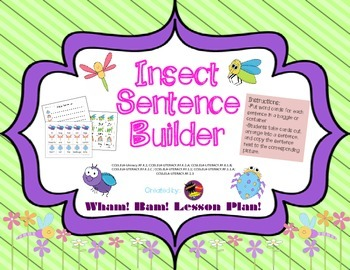 Insect Sentence Builder