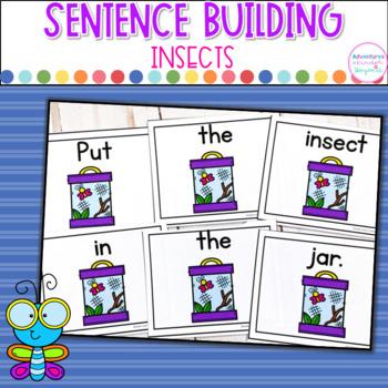 Insect Sentence Scrambles