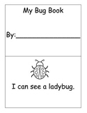 Insect Sight Word Book