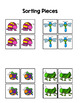 Insect Sort by Picture File Folder Game for students with Autism