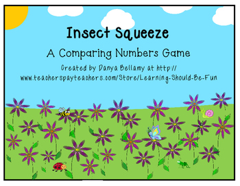 Insect Squeeze:  A Comparing Numbers Game