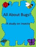 Learning the body parts of a bug!/ ¡las partes del cuerpo de un insecto!