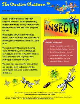 Insect Study Unit