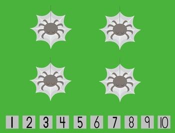 SMARTboard Insect Subitization
