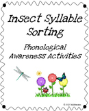 Insect Syllable Sort