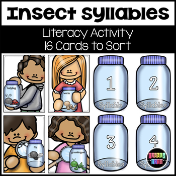 Insect Syllables Literacy Activity