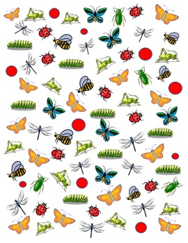 Insect Tally It then Graph It FREEBIE!