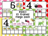 Insect Ten Frames MEGA Pack ~ Contains 8 Sets!