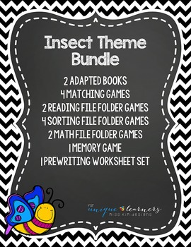 Insect Theme Bundle: 15 Insect Themed Products for Special