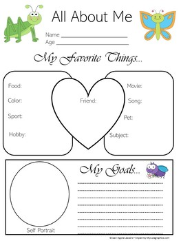 Insect Theme Classroom | Insect Theme | Insect All About Me