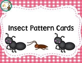 Insect Theme Pattern Cards