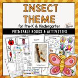 Insect Theme for Preschool & Kindergarten