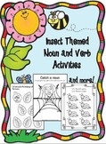 Insect Themed- Beginning Noun and Verb Activities