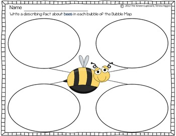 Insect Themed Bubble Maps