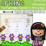 Spring Tree Map Graphic Organizers & Writing