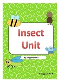 Insect Unit - Word Wall Cards, Missing Letters, Insect or Not?