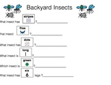 Insect Unit-for Autistic Children and Children with Language Delays