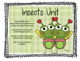 Insect Unit for Early Elementary - Bugs!