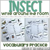 Insect Vocabulary Write The Room