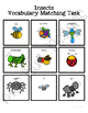 Insect Vocabulary Folder Game for Early Childhood Special Education