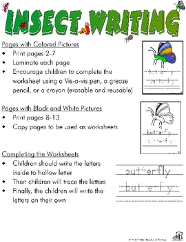 Insect Writing
