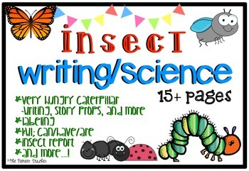 Insect [Writing And Science] Pack