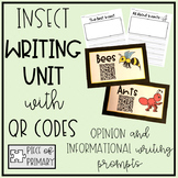 Insect QR Codes Writing Unit