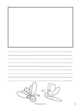 Insect Writing Paper