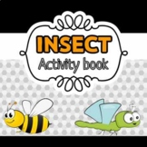 Insect activity binder / toddler learning folder