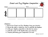 Insect and Bug Rhythm Composition