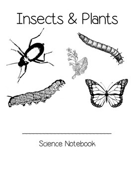 Insect and Plants Student Science Notebook
