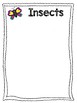 Insect or Not Insect File Folder Game