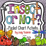 Insect or Not? (Pocket Chart and Cut and Paste Activity)