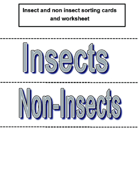 Insect sorting