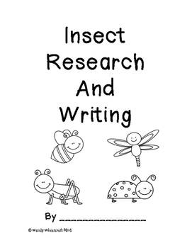 Insect (with bonus critters) Research and Writing
