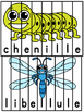 Insectes et bestioles - 21 puzzles - French insects and bugs