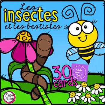 FRENCH BOOM CARDS • Insectes et bestioles