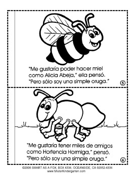 Insectos Thematic Unit BOOK in Spanish