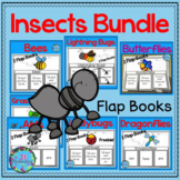 Insects and Bugs Bundle of Flap Books - Great for At Home