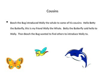 Insects - Wally the Whale Meets Bosch the Bug