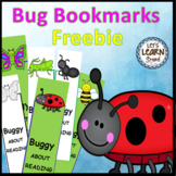 Bug and Insect Activities Bookmarks (Free) Spring Fun