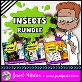 Insects Activities BUNDLE (PowerPoint, Flipbook and Bingo)