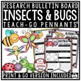 Bugs & Insects Activities Research Project • Teach- Go Pennants™