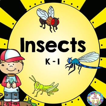 Insects ~ Science, Math, and Reading for Kindergaten and First Grades