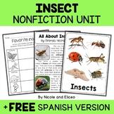 Nonfiction Unit - Insect Activities