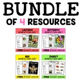 Nonfiction Units - Insect Bundle