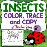 Insects Coloring Sheets